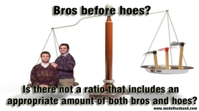 A Healthy Balance of Bros and Hoes: Countering the Bros Before Hoes Mythos Part1