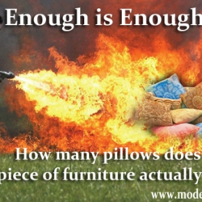 The Curious Case of Too Many F***ING Pillows