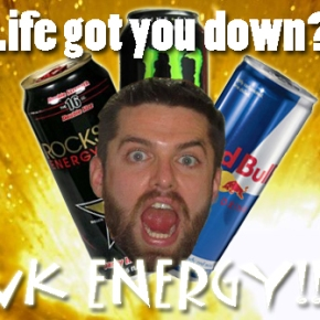 Product Reviews By Men: ENERGY DRINKS…All ofThem