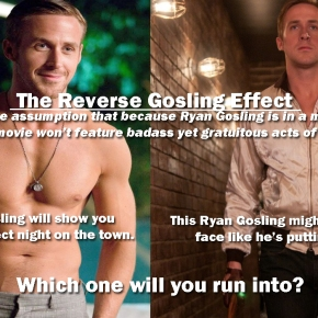 The Reverse GoslingEffect