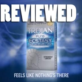 "Product Reviews for Men by Men: Trojan ""Pure Ecstasy""Condoms"