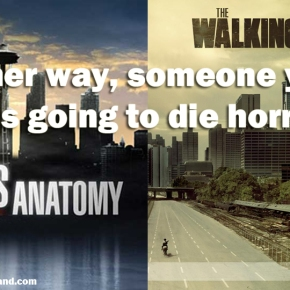 Someone You Like Is Gonna Die: Grey's Anatomy vs The WalkingDead
